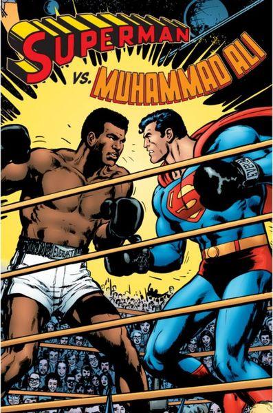 Superman vs. Muhammad Ali Deluxe superman vs zod