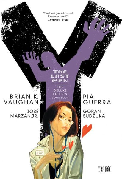 Y The Last Man Deluxe Edition Book Four the invisibles the deluxe edition book four