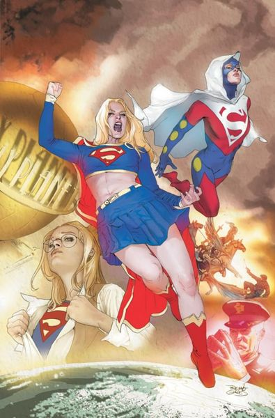 Supergirl: Death and the Family supergirl book two