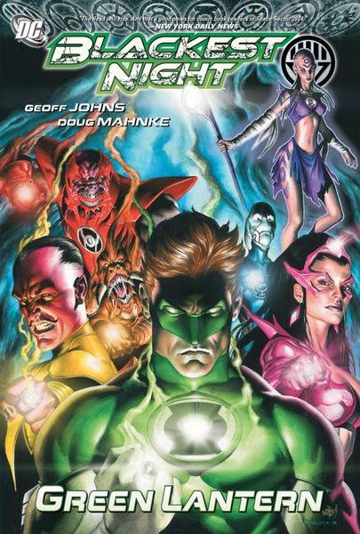 Blackest Night: Green Lantern blackest night black lantern corps volume 2