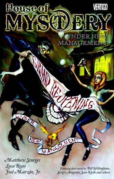 House of Mystery Vol. 5: Under New Management fear agent vol 5