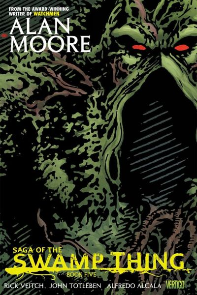 Saga of the Swamp Thing Book Five the almost impossible thing