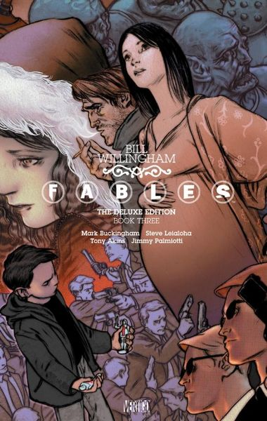 Fables: The Deluxe Edition Book Three the invisibles the deluxe edition book four