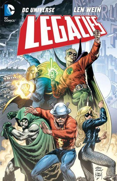 DC Universe: Legacies united as one lorien legacies book 7
