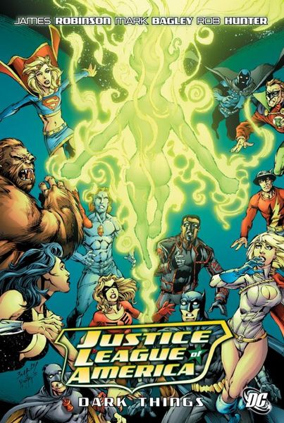 Justice League of America: The Dark Things christos gage justice league beyond power struggle