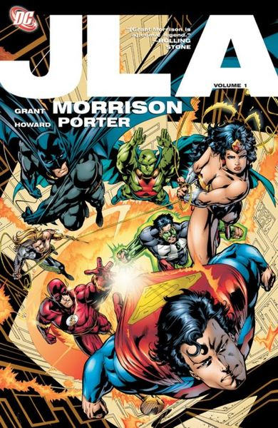 JLA: The Deluxe Edition, Volume 1 grant morrison the invisibles