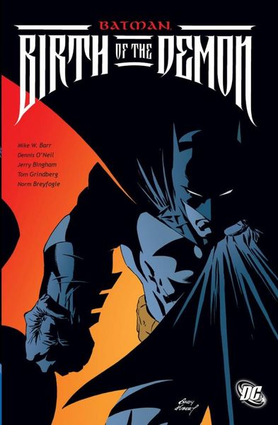 Batman: Birth of the Demon the little book of batman