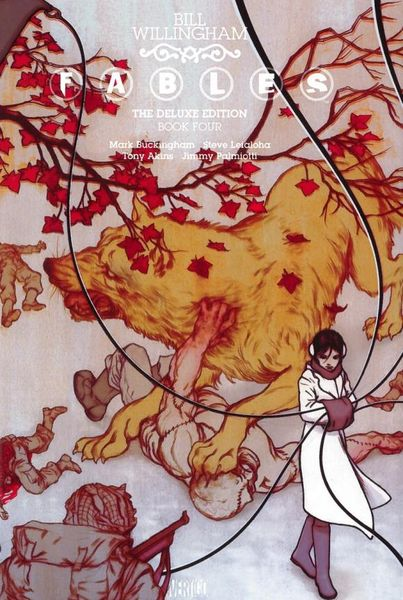 Fables: The Deluxe Edition Book Four fables volume 5 the mean seasons