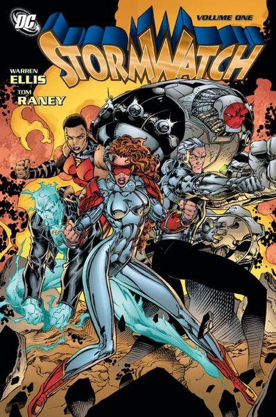 Stormwatch Vol. 1 inhuman vol 1