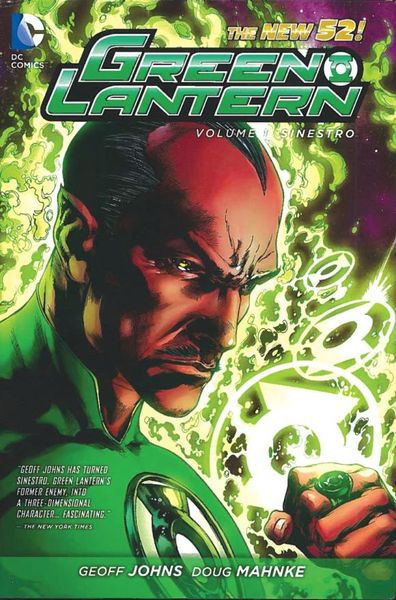 Green Lantern Vol. 1: Sinestro (The New 52) keith giffen threshold vol 1 the hunted the new 52