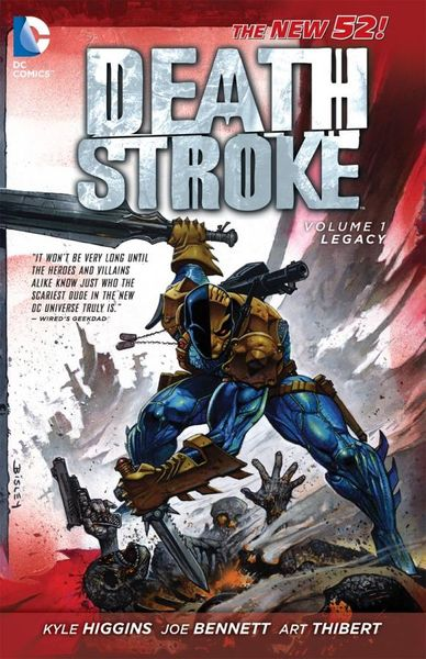 Deathstroke Vol. 1: Legacy (The New 52)  keith giffen threshold vol 1 the hunted the new 52