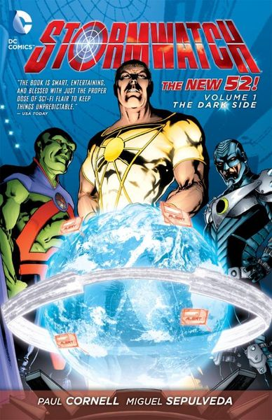 Stormwatch Vol. 1: The Dark Side (The New 52) keith giffen threshold vol 1 the hunted the new 52