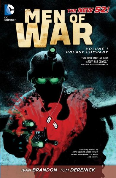 Men of War Vol. 1: Uneasy Company (The New 52) keith giffen threshold vol 1 the hunted the new 52