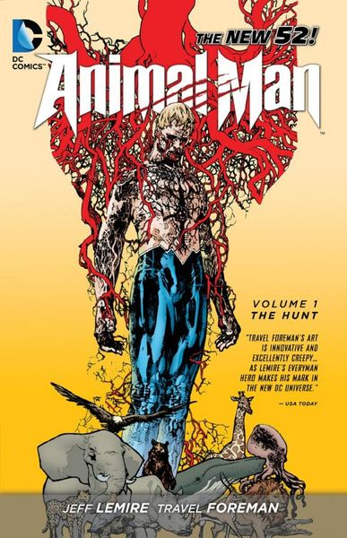 Animal Man Vol. 1: The Hunt (The New 52)  keith giffen threshold vol 1 the hunted the new 52