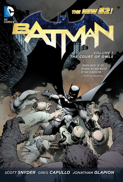 Batman Vol. 1: The Court of Owls (The New 52) batman volume 1 the court of owls