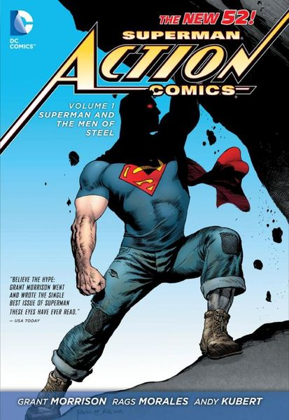 Superman - Action Comics Vol. 1: Superman and the Men of Steel (The New 52) extraordinary x men vol 2 apocalypse wars