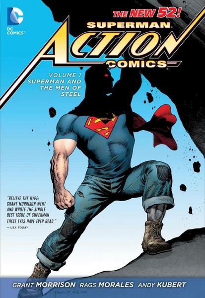 Superman - Action Comics Vol. 1: Superman and the Men of Steel (The New 52) batman detective comics vol 3 emperor penguin the new 52