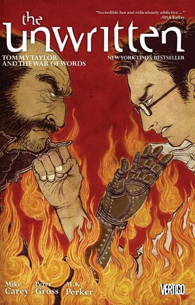 The Unwritten Vol. 6: Tommy Taylor and the War of Words crusade vol 3 the master of machines