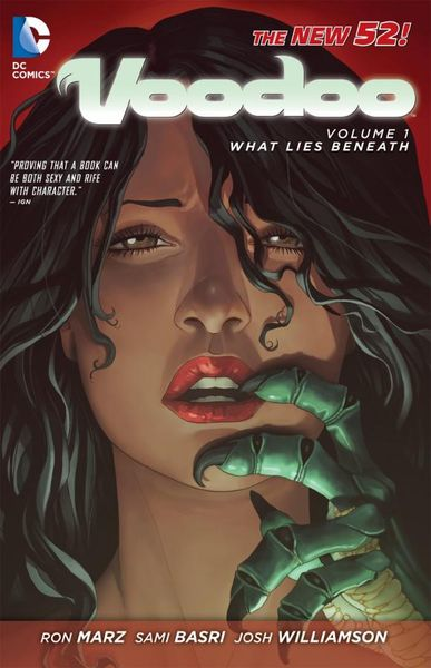 Voodoo Vol. 1: What Lies Beneath (The New 52) ron marz voodoo vol 1 what lies beneath the new 52