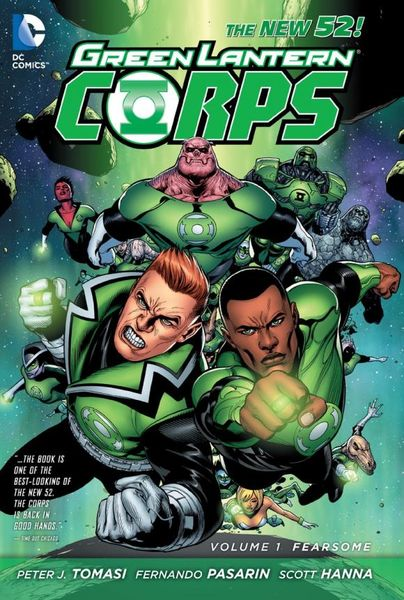 Green Lantern Corps Vol. 1: Fearsome (The New 52) geoff johns green lantern vol 1 sinestro the new 52