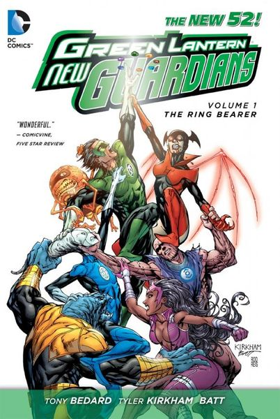 Green Lantern: New Guardians Vol. 1: The Ring Bearer (The New 52) keith giffen threshold vol 1 the hunted the new 52