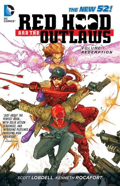 Red Hood and the Outlaws Vol. 1: REDemption (The New 52) keith giffen threshold vol 1 the hunted the new 52