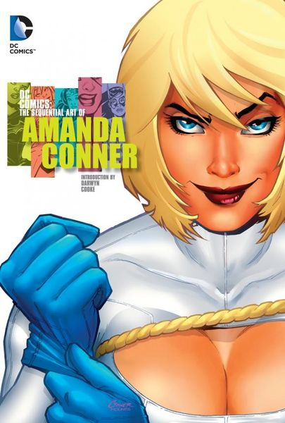 DC Comics: The Sequential Art of Amanda Conner cover run the dc comics art of adam hughes