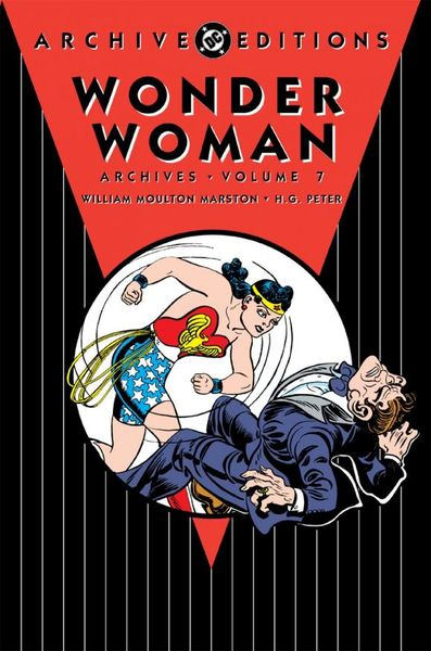 Wonder Woman Archives Vol. 7 powers the definitive hardcover collection vol 7
