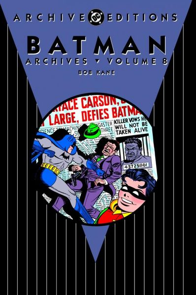 Batman: The Dark Knight Archives Vol. 8 batman the golden age vol 4