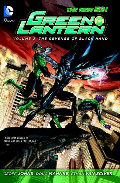 Green Lantern: Volume 2: The Revenge of Black Hand (The New 52) gl tales of sinestro corps