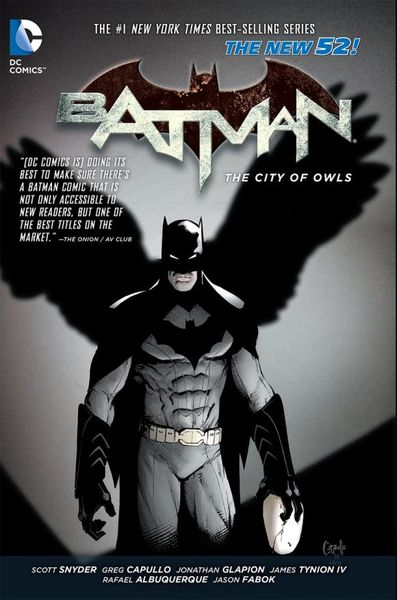 Batman Vol. 2: The City of Owls (The New 52) batman volume 1 the court of owls