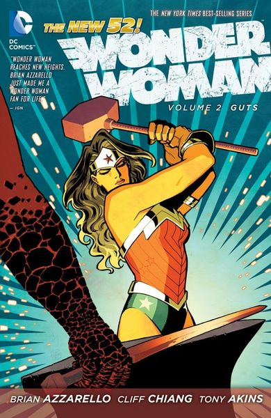 Wonder Woman: Volume 2: Guts what a woman needs