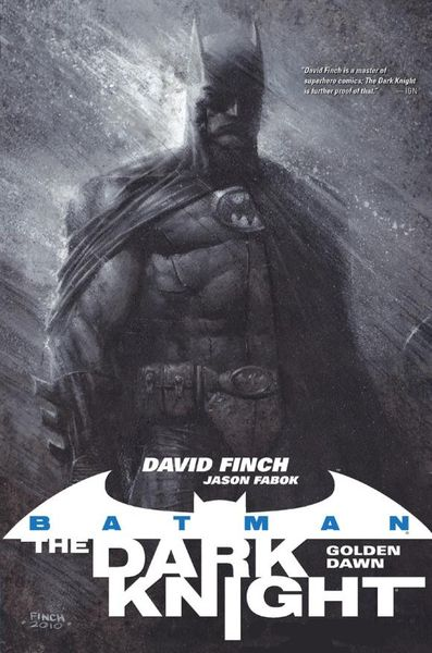 Batman: The Dark Knight: Golden Dawn batman the golden age vol 4