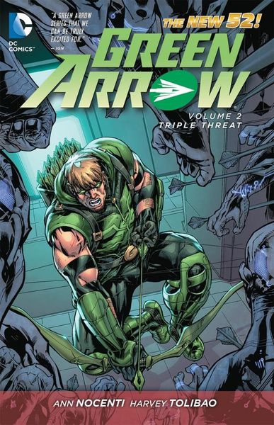Green Arrow Vol. 2: Triple Threat (The New 52) keith giffen threshold vol 1 the hunted the new 52