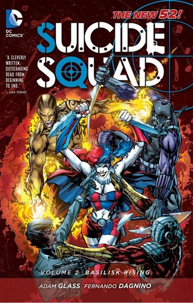 Suicide Squad Vol. 2: Basilisk Rising (The New 52) the squad black op