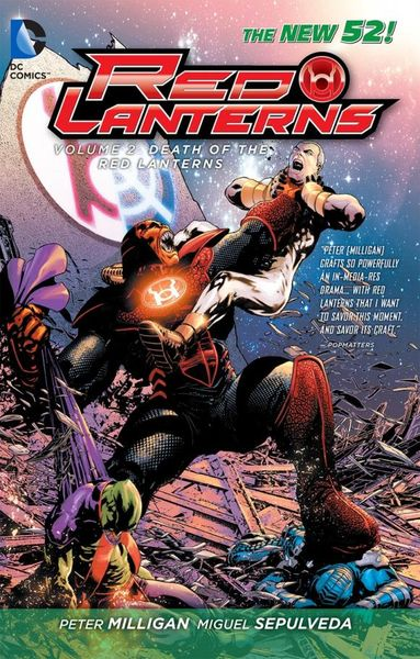 Red Lanterns Vol. 2: The Death of the Red Lanterns (The New 52) death s head vol 2