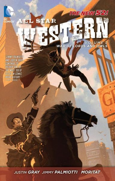 All Star Western: Volume 2: The War of Lords and Owls batman volume 1 the court of owls