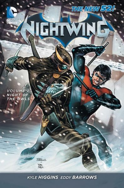 Nightwing Vol. 2: Night of the Owls (The New 52) batman volume 1 the court of owls
