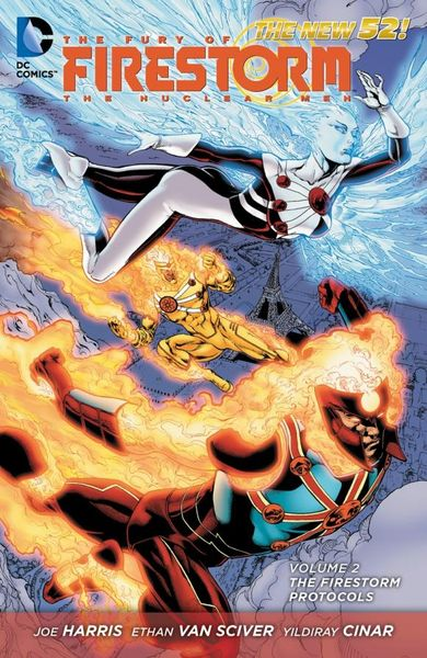 The Fury of Firestorm: The Nuclear Men Vol. 2: The Firestorm Protocols (The New 52) crusade vol 3 the master of machines
