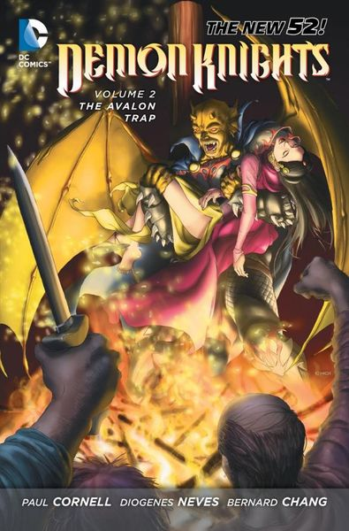 Demon Knights Vol. 2: The Avalon Trap (The New 52) the knights of pendragon vol 1