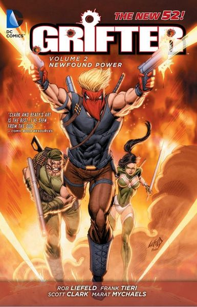 Grifter Vol. 2: New Found Power (The New 52) цена и фото