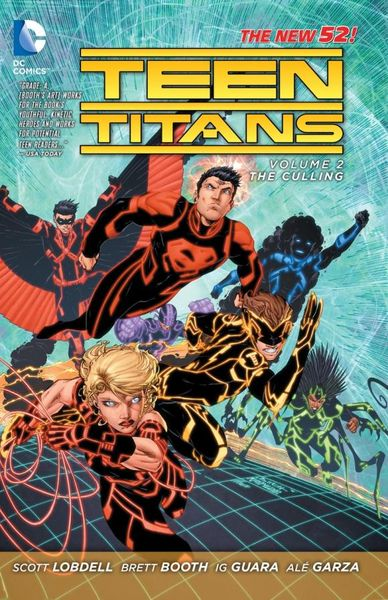 Teen Titans Vol. 2: The Culling (The New 52) tiny titans vol 01