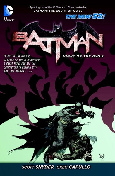Batman: Night of the Owls (The New 52) batman volume 1 the court of owls