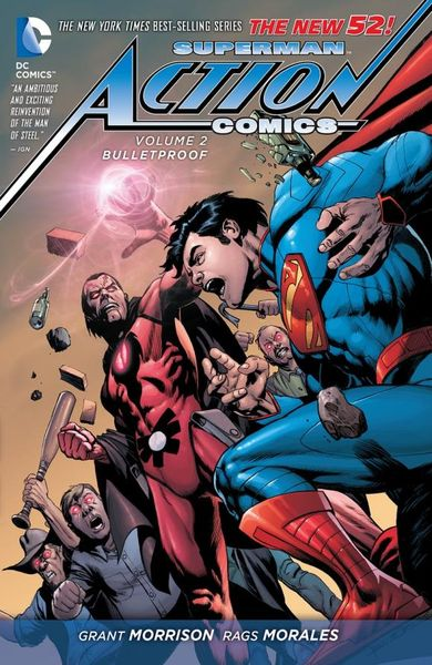 Superman - Action Comics Vol. 2: Bulletproof (The New 52) batman detective comics vol 3 emperor penguin the new 52