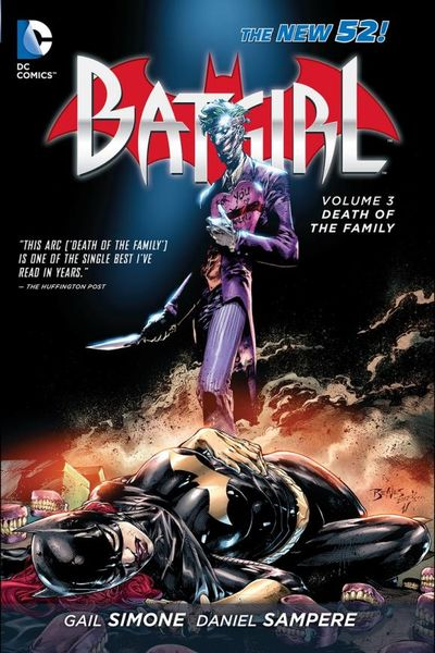 Batgirl Vol. 3: Death of the Family (The New 52) gail simone batgirl vol 1 the darkest reflection the new 52