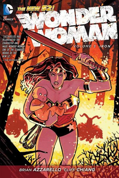 Wonder Woman Vol. 3: Iron (The New 52) wonder woman the golden age omnibus vol 1