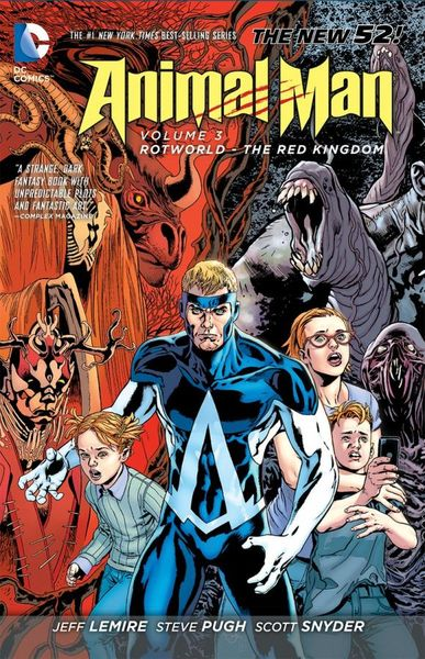 Animal Man Vol. 3: Rotworld: The Red Kingdom (The New 52) the punisher vol 3