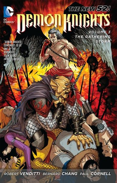 Demon Knights Vol. 3: The Gathering Storm (The New 52) the knights of pendragon vol 1
