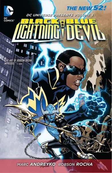 DC Universe Presents Vol. 3: Black Lightning and Blue Devil (The New 52) wi fi роутер tp link archer mr200 ac750