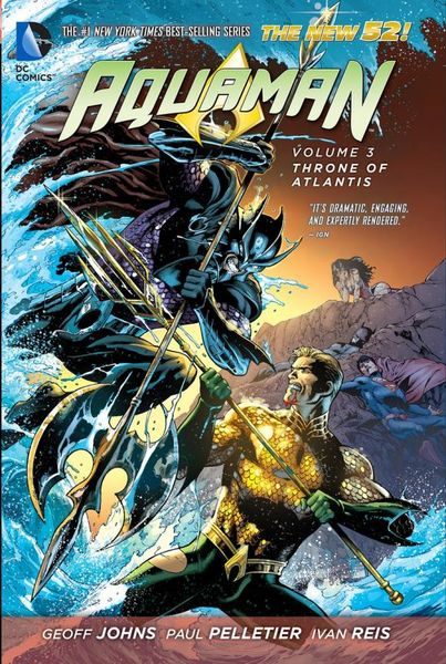 Aquaman Vol. 3: Throne of Atlantis (The New 52) solar powered toys educational diy kit set 6 model